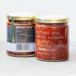 Tomato and white sultana chutney